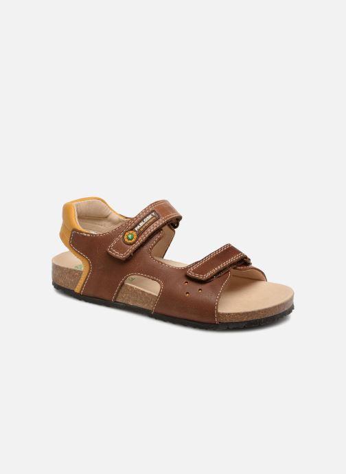 Sandales et nu-pieds Pablosky Eduardo Marron vue détail/paire