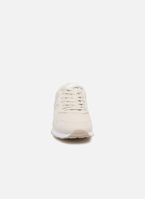 Baskets Esprit Amu Diamond Beige vue portées chaussures