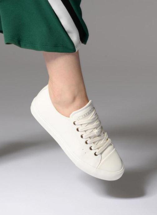 Sneakers Esprit Sonet lace up Hvid se forneden