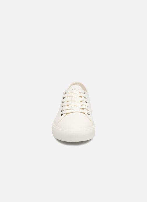 Baskets Esprit Sonet lace up Blanc vue portées chaussures