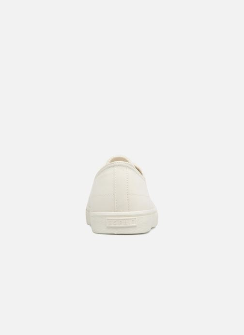 Sneakers Esprit Sonet lace up Hvid Se fra højre