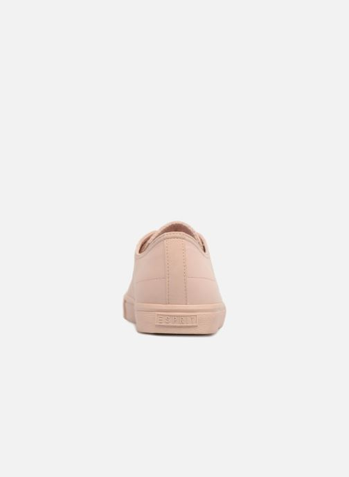 Trainers Esprit Sonet lace up Pink view from the right