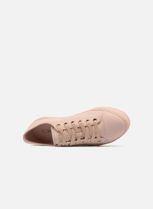Baskets Esprit Sonet lace up Rose vue gauche