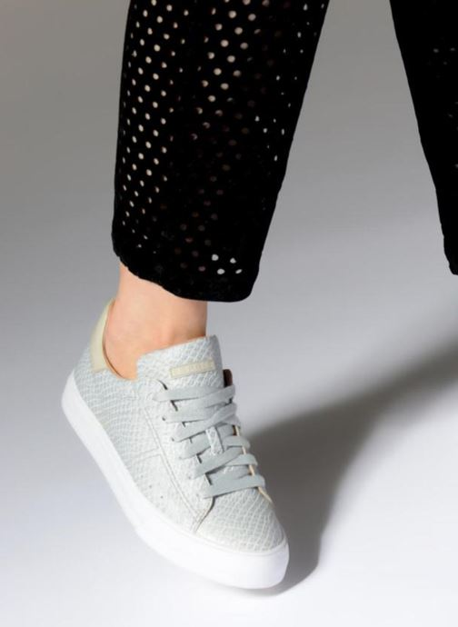 Trainers Esprit Simona Lace up Grey view from underneath / model view