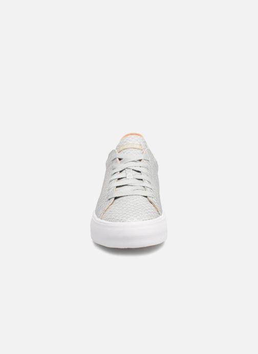 Baskets Esprit Simona Lace up Gris vue portées chaussures