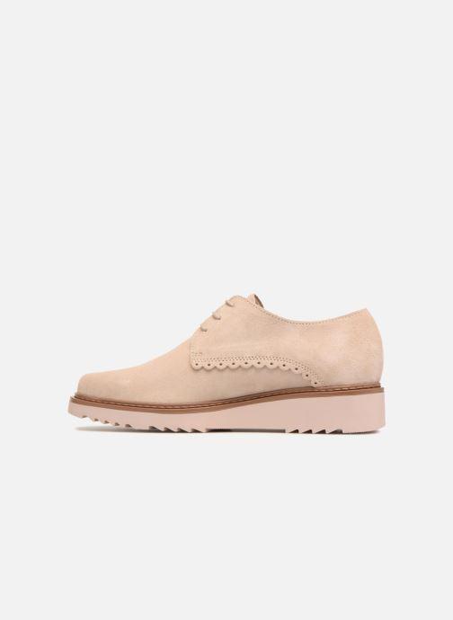 Zapatos con cordones Esprit Josepha Rosa vista de frente