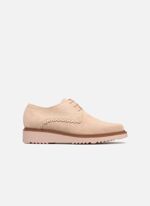 Chaussures à lacets Esprit Josepha Rose vue derrière