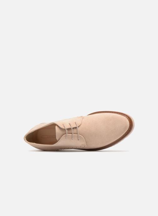 Zapatos con cordones Esprit Josepha Rosa vista lateral izquierda