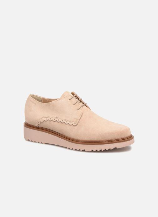 Chaussures à lacets Esprit Josepha Rose vue détail/paire