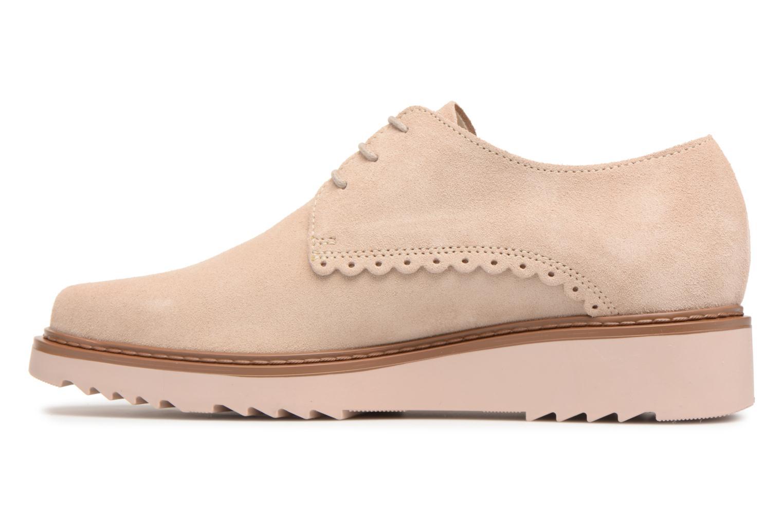 Chaussures à lacets Esprit Josepha Rose vue face