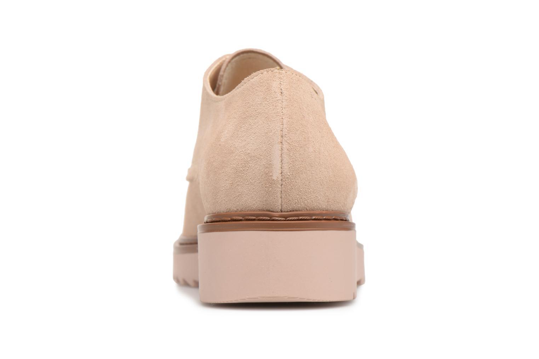 Chaussures à lacets Esprit Josepha Rose vue droite