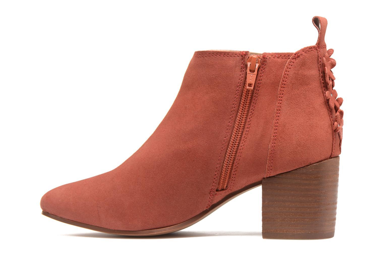 Bottines et boots Esprit Candy Bootie Rouge vue face