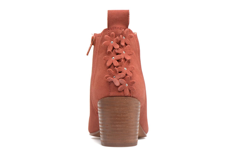 Bottines et boots Esprit Candy Bootie Rouge vue droite