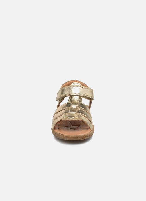 Sandals Naturino Summer Bronze and Gold model view