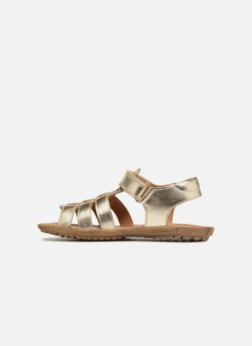 Sandals Naturino Summer Bronze and Gold front view
