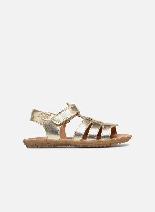 Sandals Naturino Summer Bronze and Gold back view