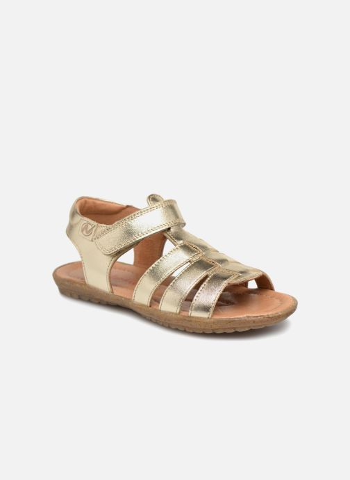 Sandals Naturino Summer Bronze and Gold detailed view/ Pair view