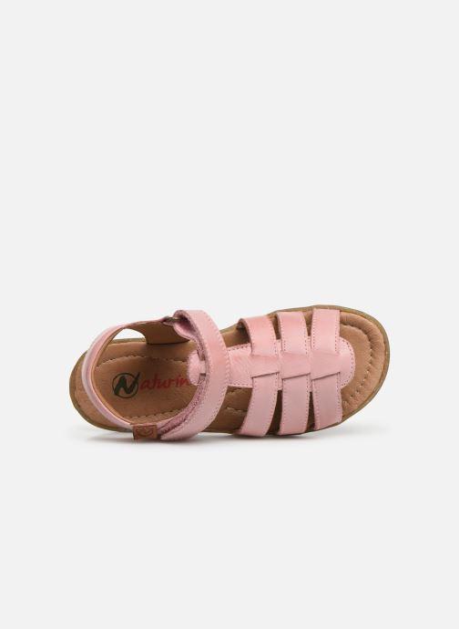 Sandales et nu-pieds Naturino Summer Rose vue gauche