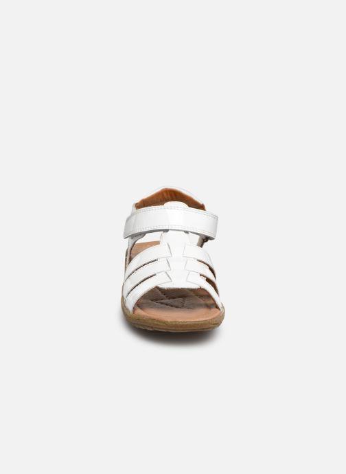 Sandales et nu-pieds Naturino Summer Blanc vue portées chaussures