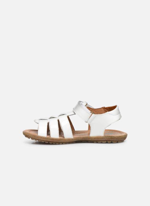 Sandales et nu-pieds Naturino Summer Blanc vue face