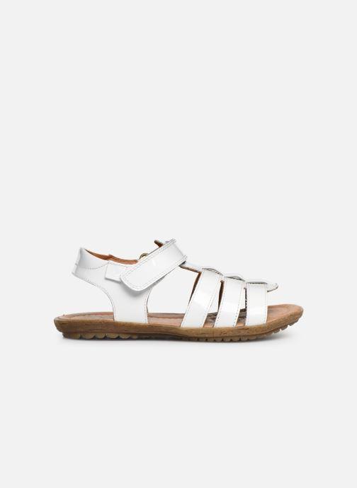 Sandales et nu-pieds Naturino Summer Blanc vue derrière