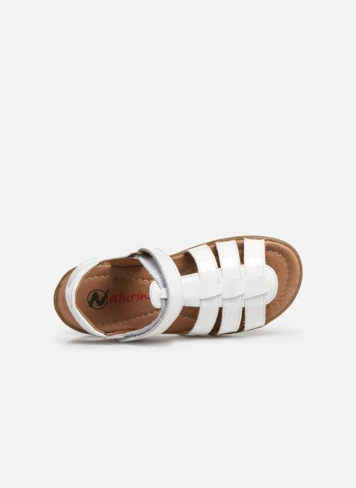 Sandales et nu-pieds Naturino Summer Blanc vue gauche