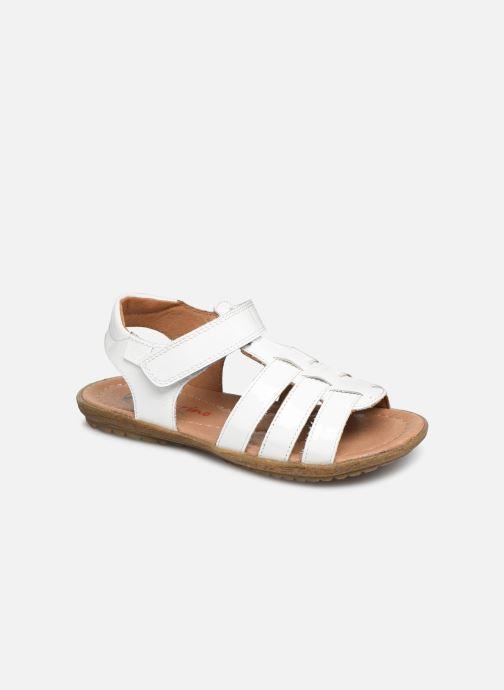 Sandales et nu-pieds Naturino Summer Blanc vue détail/paire