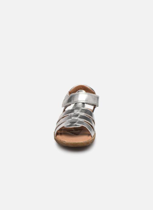 Sandales et nu-pieds Naturino Summer Argent vue portées chaussures