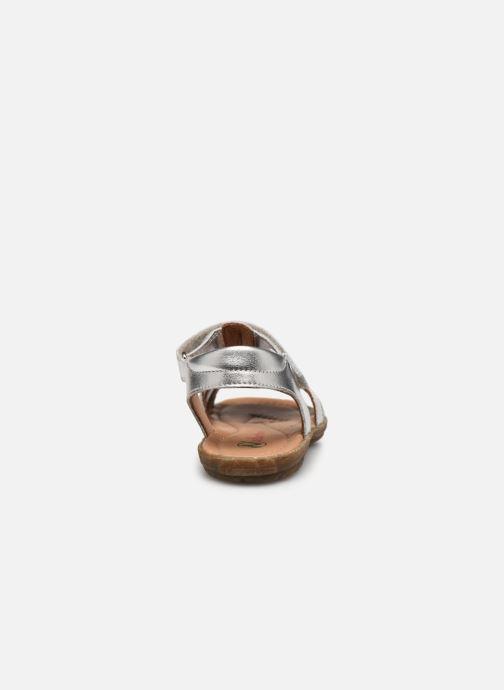 Sandales et nu-pieds Naturino Summer Argent vue droite