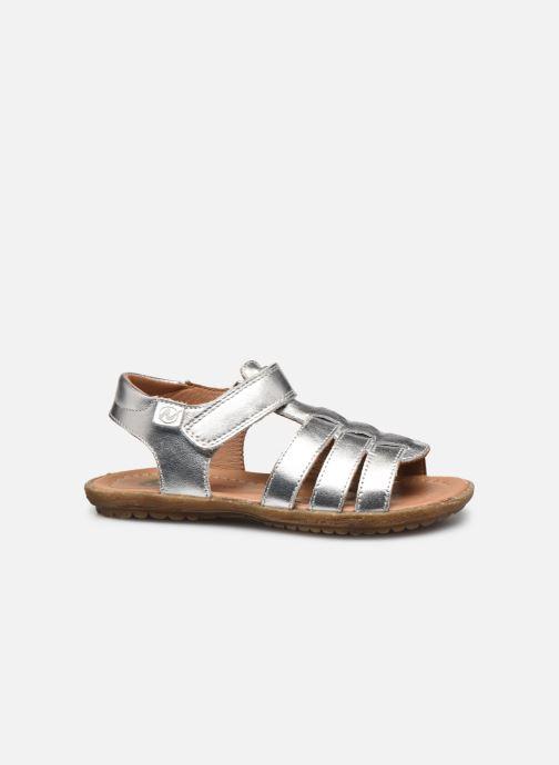 Sandales et nu-pieds Naturino Summer Argent vue derrière
