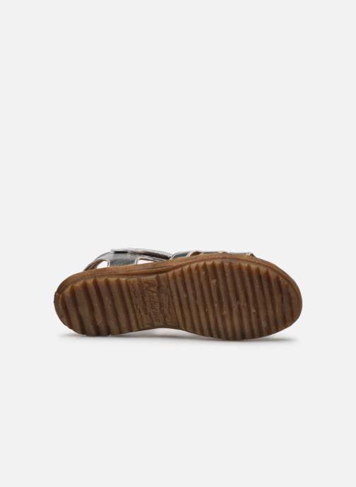 Sandales et nu-pieds Naturino Summer Argent vue haut