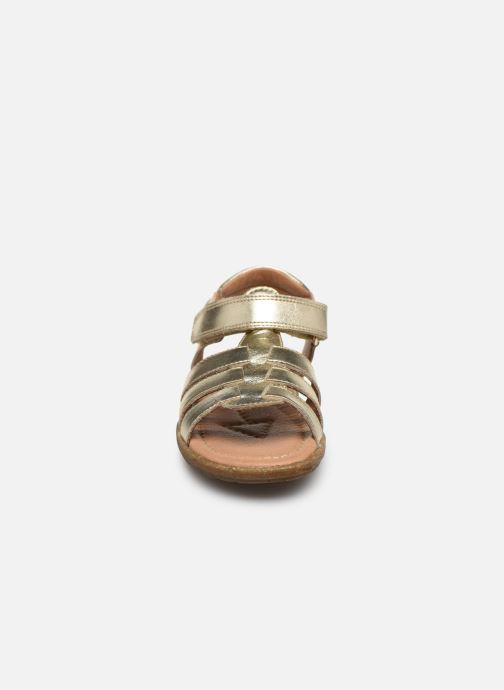 Sandales et nu-pieds Naturino Summer Or et bronze vue portées chaussures