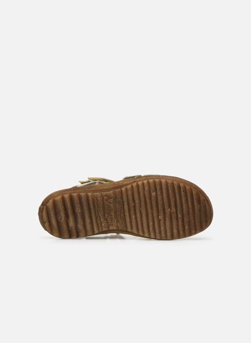 Sandales et nu-pieds Naturino Summer Or et bronze vue haut