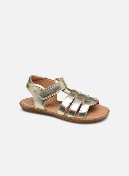 Sandales et nu-pieds Naturino Summer Or et bronze vue détail/paire