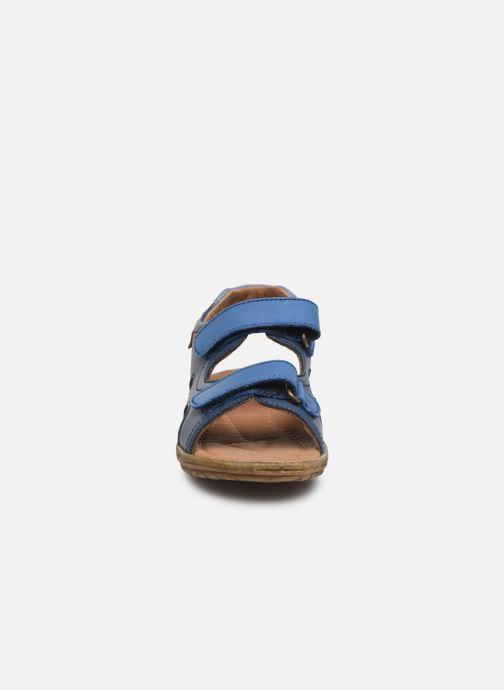 Sandali e scarpe aperte Naturino Sky Azzurro modello indossato