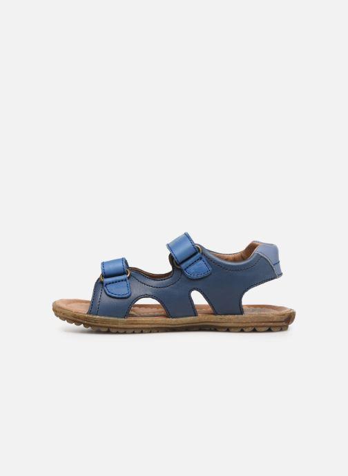 Sandales et nu-pieds Naturino Sky Bleu vue face
