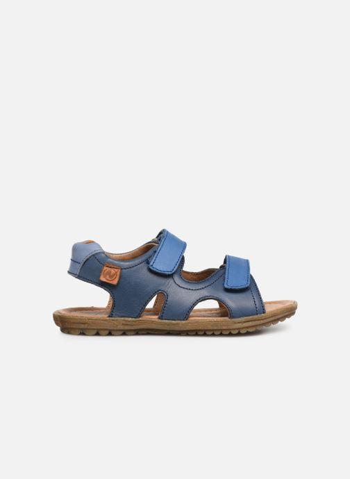 Sandales et nu-pieds Naturino Sky Bleu vue derrière