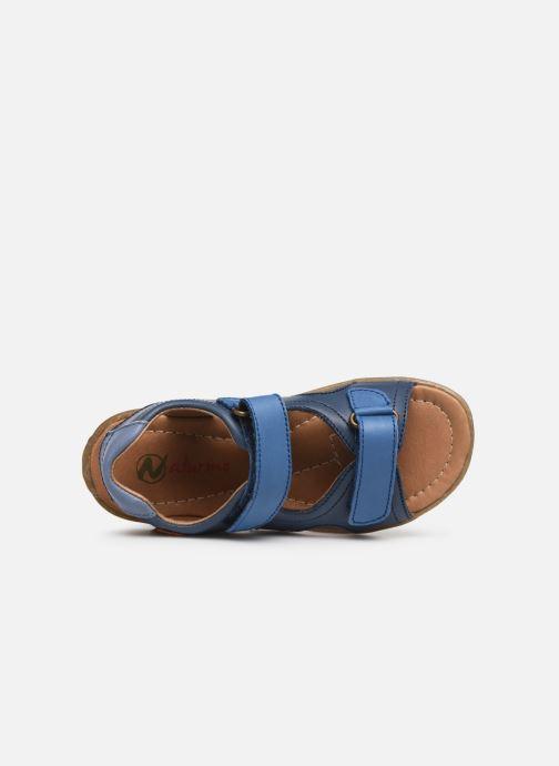 Sandales et nu-pieds Naturino Sky Bleu vue gauche