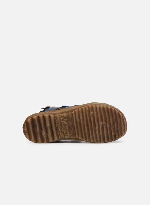 Sandales et nu-pieds Naturino Sky Bleu vue haut