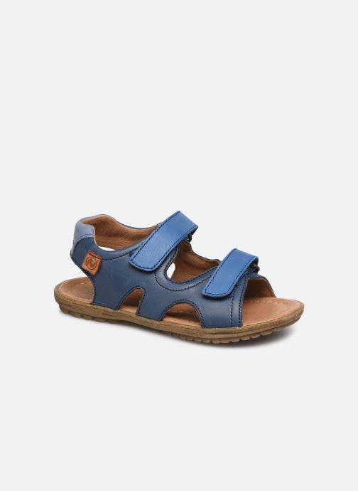 Sandales et nu-pieds Naturino Sky Bleu vue détail/paire