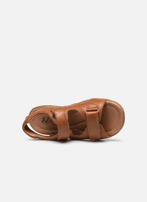 Sandali e scarpe aperte Naturino Sky Marrone immagine sinistra