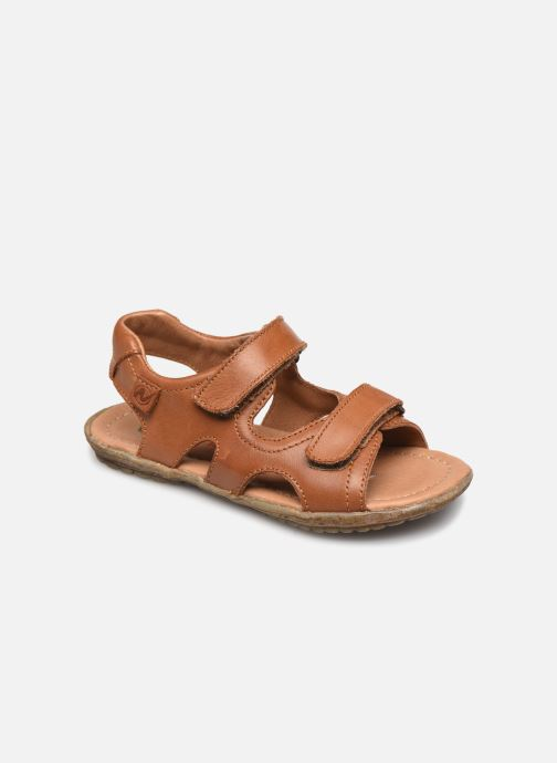 Sandales et nu-pieds Naturino Sky Marron vue détail/paire