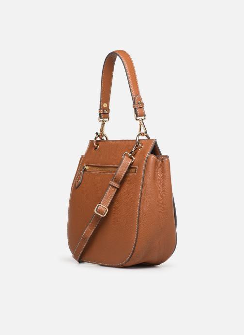 Handtaschen Mac Douglas Garance Romy M braun ansicht von rechts