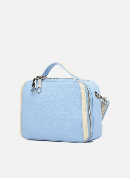 Handtassen Le Tanneur Crossbody Agathe Blauw model
