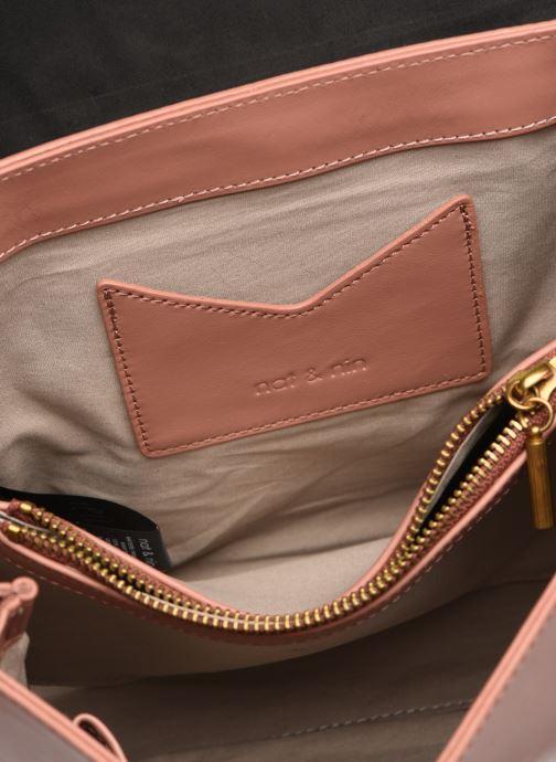 Handtassen Nat & Nin Carmen Roze achterkant