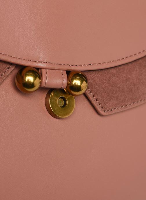 Handtaschen Nat & Nin Carmen rosa ansicht von links