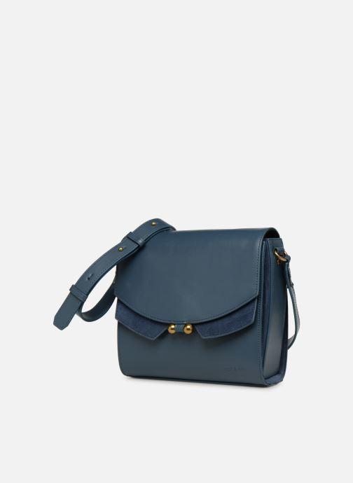 Handtassen Nat & Nin Carmen Blauw model