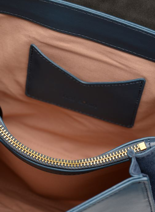 Handtassen Nat & Nin Carmen Blauw achterkant