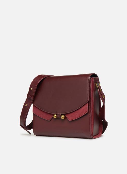 Handtassen Nat & Nin Carmen Bordeaux model