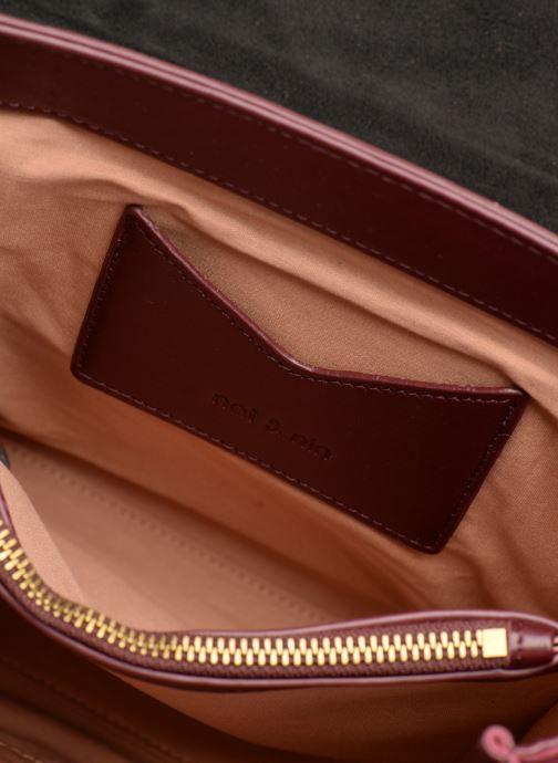 Handtaschen Nat & Nin Carmen weinrot ansicht von hinten